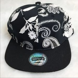 Other - NWT - FLORAL SnapBack Hat Cap